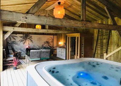 Espace détente sauna et spa
