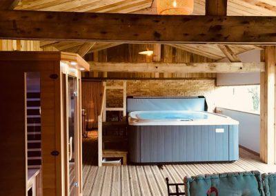 Spa sauna et espace détente
